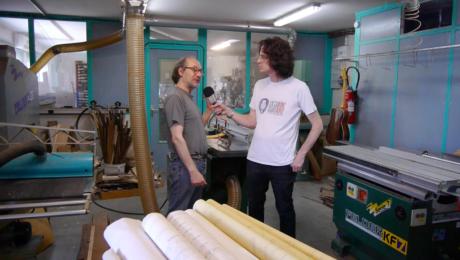 Visite atelier du luthier Franck Cheval 1/3