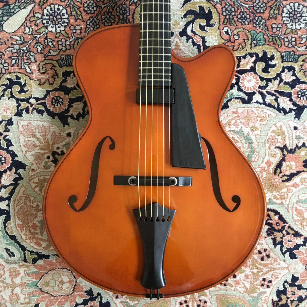 Test Guitare - Archtop Classic 16 - Luthier Gérard Defurne