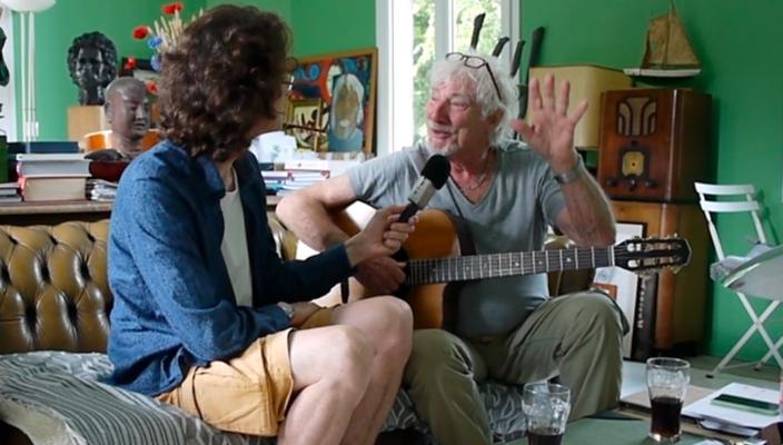 Interview Hugues Aufray - Guitare à la Main - Partie 1/2