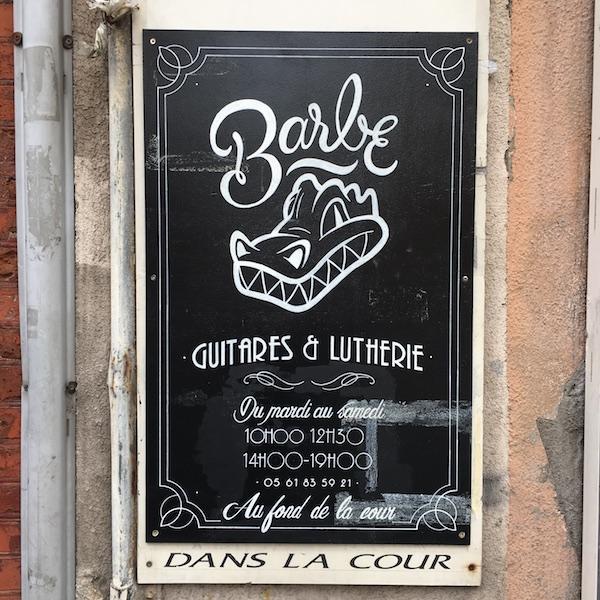 Reportage sur un apéro chez Barbe Guitares & Lutherie (Toulouse)