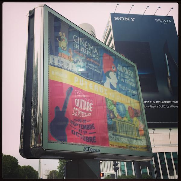 Festival de Guitare de Puteaux 2017 - Rue de Puteaux