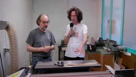 Visite atelier du luthier Franck Cheval 3/3