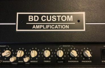 Test Ampli - BD Custom Amplification - BF/Brownie