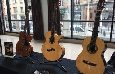 Interview luthier Gijs de Wit - Guitares au Beffroi 2017