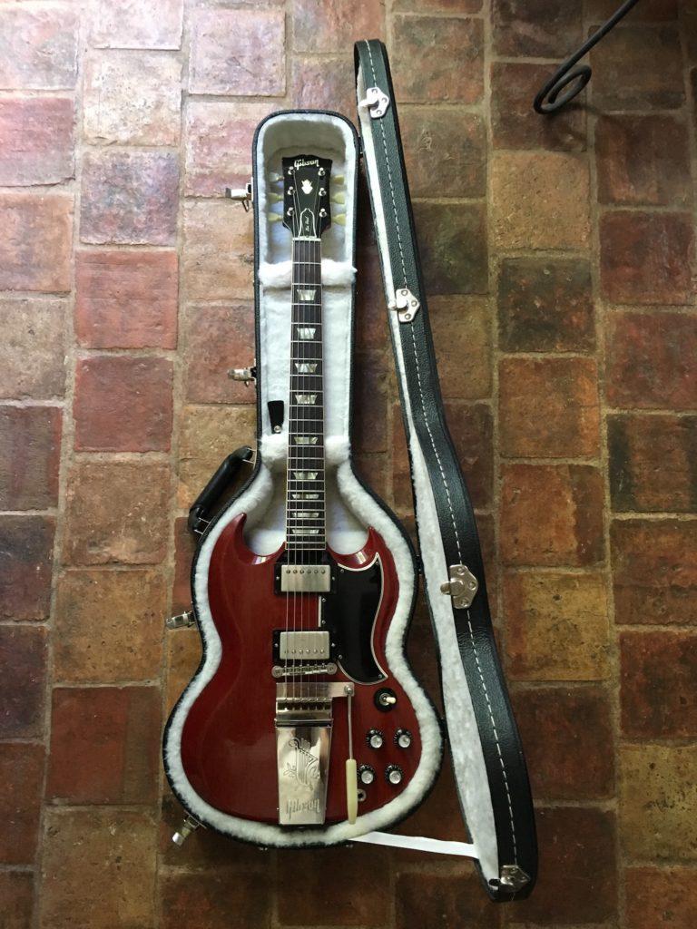 Gibson SG 1963 Robben Ford - Guitares d'Exception Matthieu Lucas