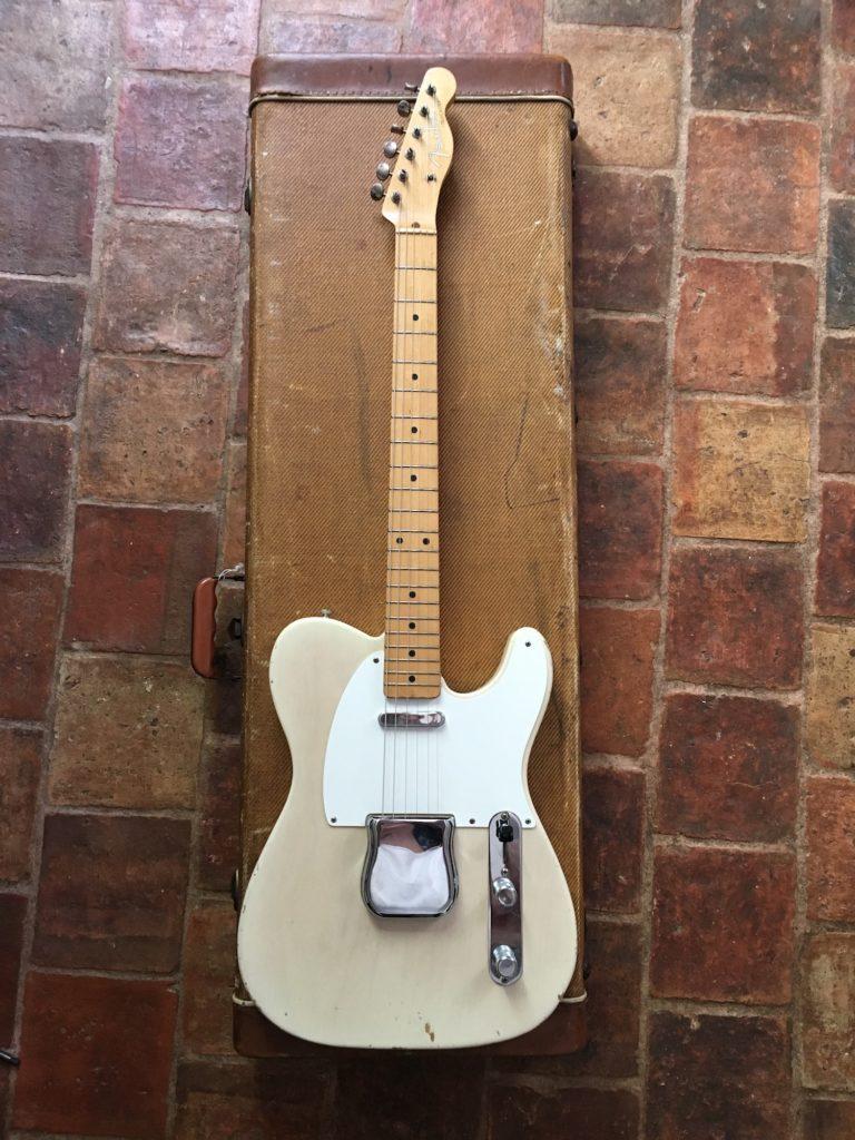 Fender Telecaster top loader 1958 - Guitares d'Exception Matthieu Lucas