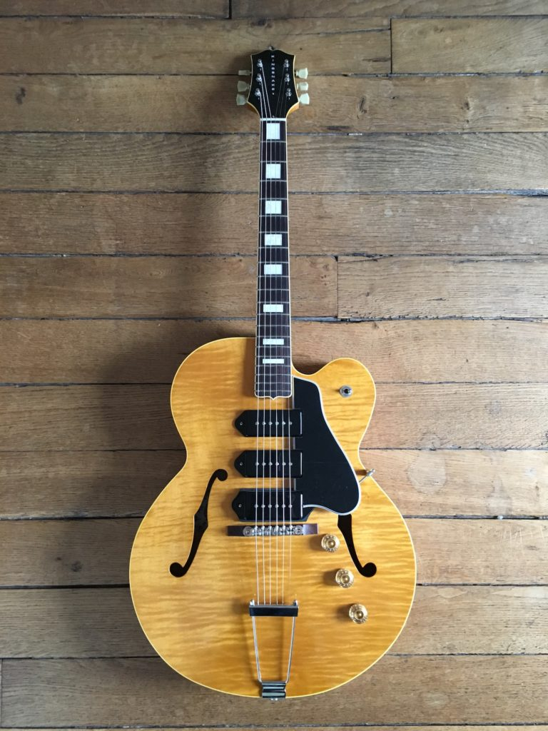 Test Guitare - King Snake modèle Three Bone - T-Bone Walker style