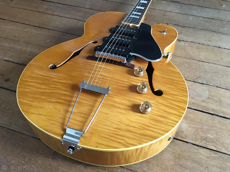 Test Guitare - King Snake modèle Three Bone - T-Bone Walker style