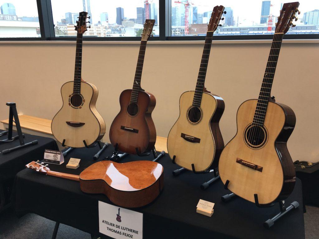 Festival de Guitare de Puteaux 2017 - Guitares Thomas Fejoz