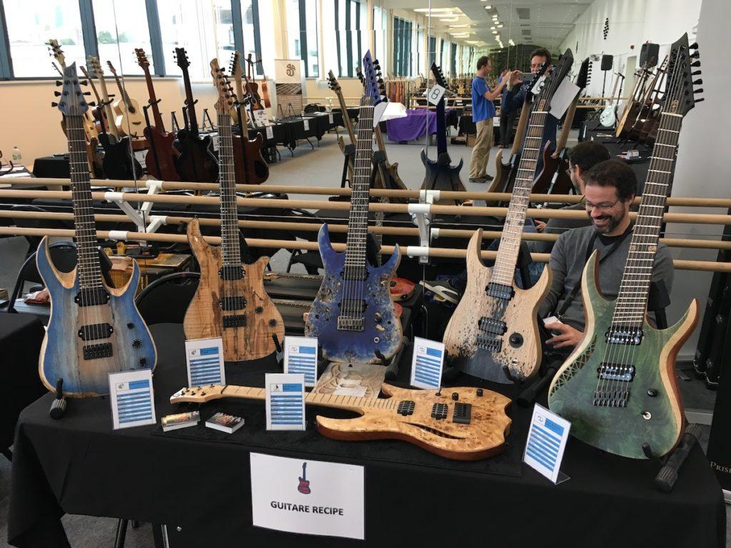 Festival de Guitare de Puteaux 2017 - Le stand de Guitar Recipe