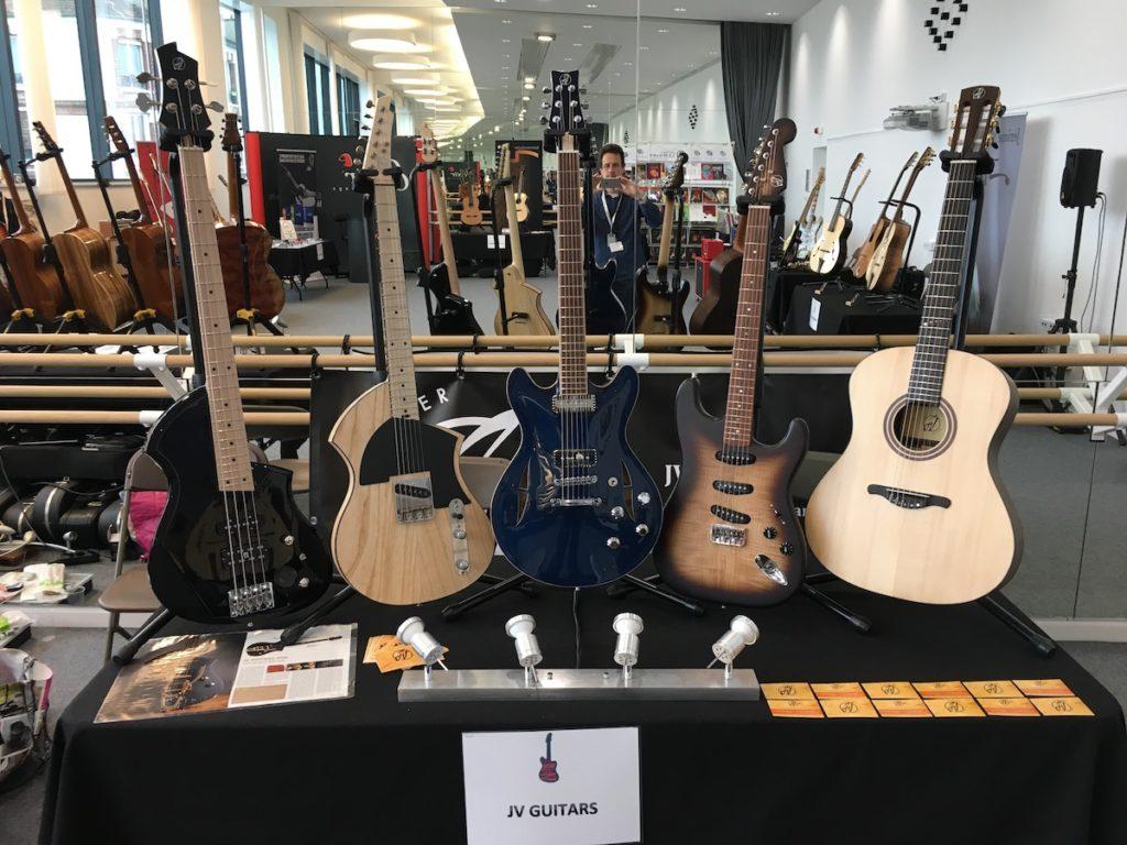 Festival de Guitare de Puteaux 2017 - Guitares JV Guitars de Jérôme Vander Maren