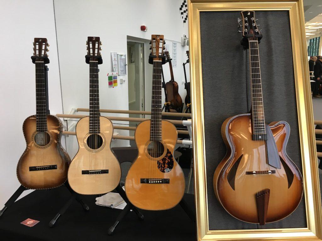 Festival de Guitare de Puteaux 2017 - Les guitares de Pierre Bertrand