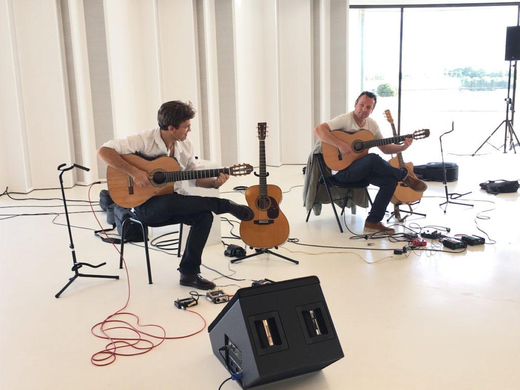 Festival de Guitare de Puteaux 2017 - Masterclass Jean-Félix Lalanne et Eric Gombart
