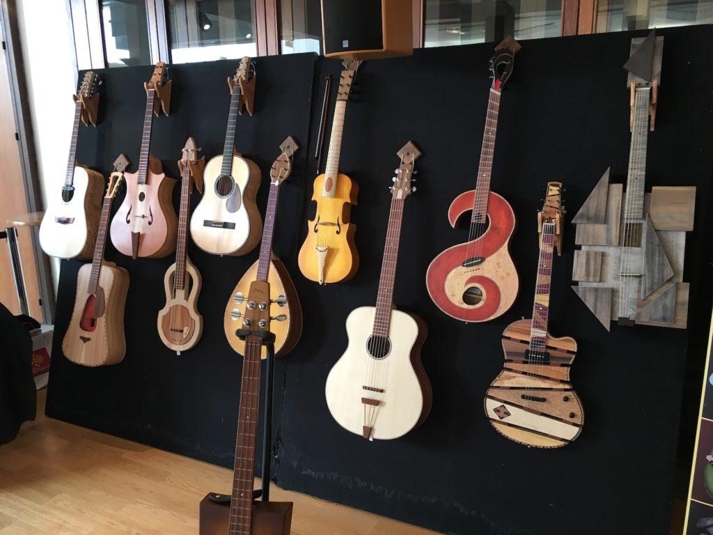 Internationales de la Guitare de Toulouse 2017 - Salon des luthiers acoustiques - Philippe Berne