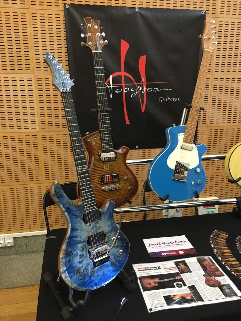 Internationales de la Guitare de Toulouse 2017 - Salon des luthiers électriques - Hoogeboom