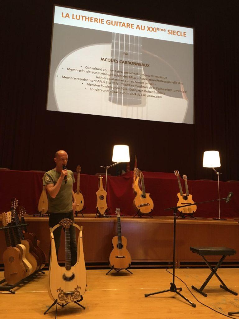Internationales de la Guitare de Toulouse 2017 - Jacques Carbonneaux