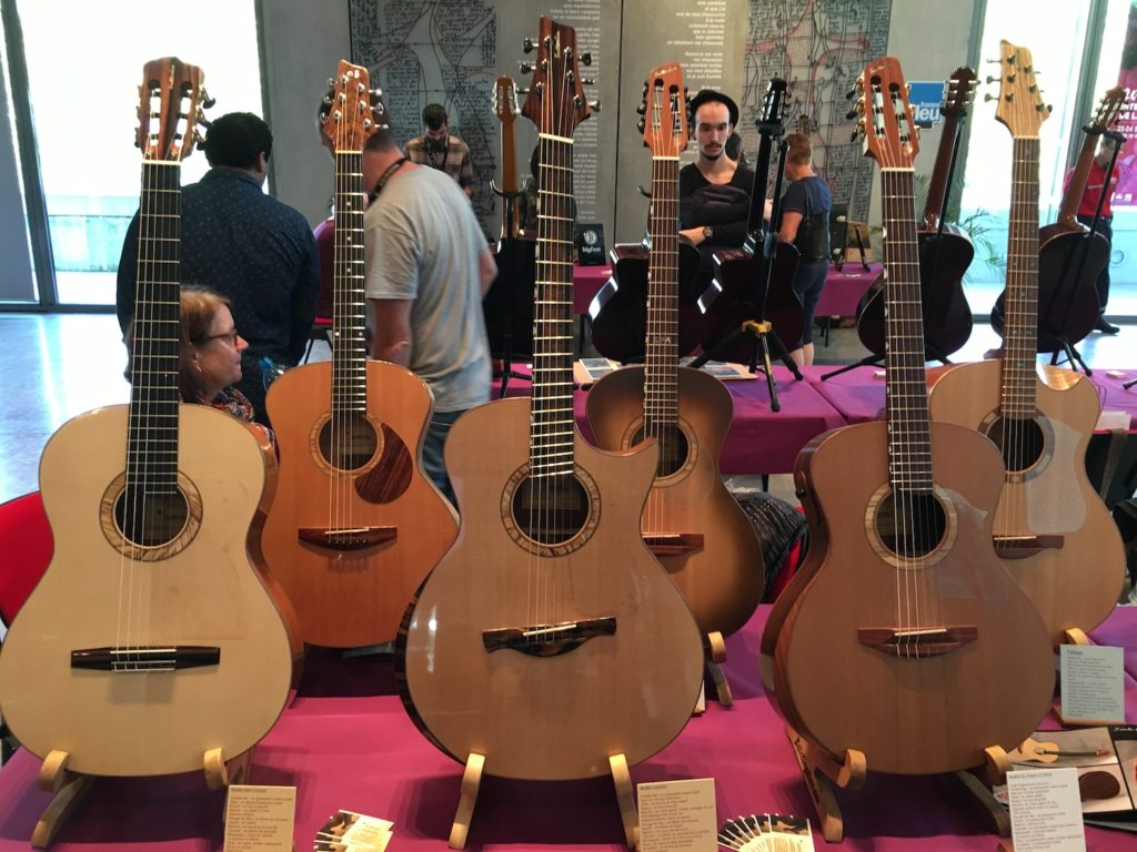 Internationales de la Guitare de Toulouse 2017 - Salon des luthiers acoustiques - Butterlin