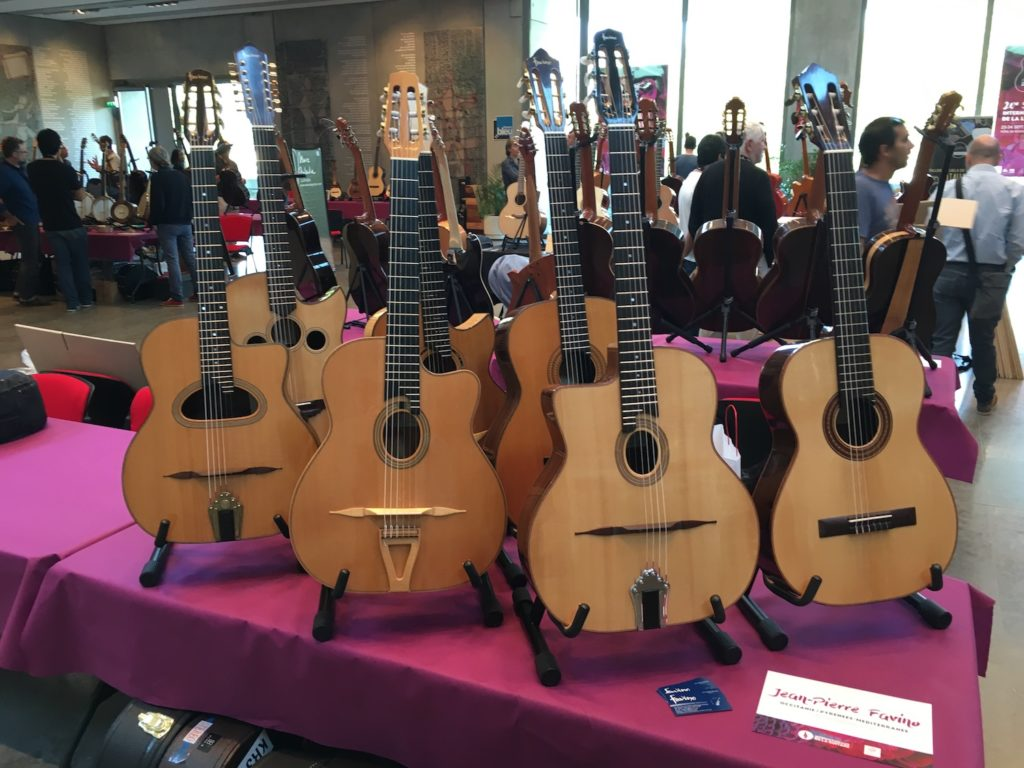 Internationales de la Guitare de Toulouse 2017 - Salon des luthiers acoustiques - Favino