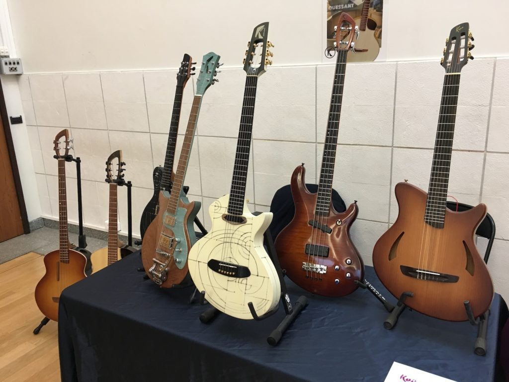 Internationales de la Guitare de Toulouse 2017 - Salon des luthiers électriques - Kopo