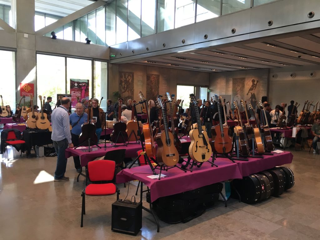 Internationales de la Guitare de Toulouse 2017 - Salon des luthiers acoustiques