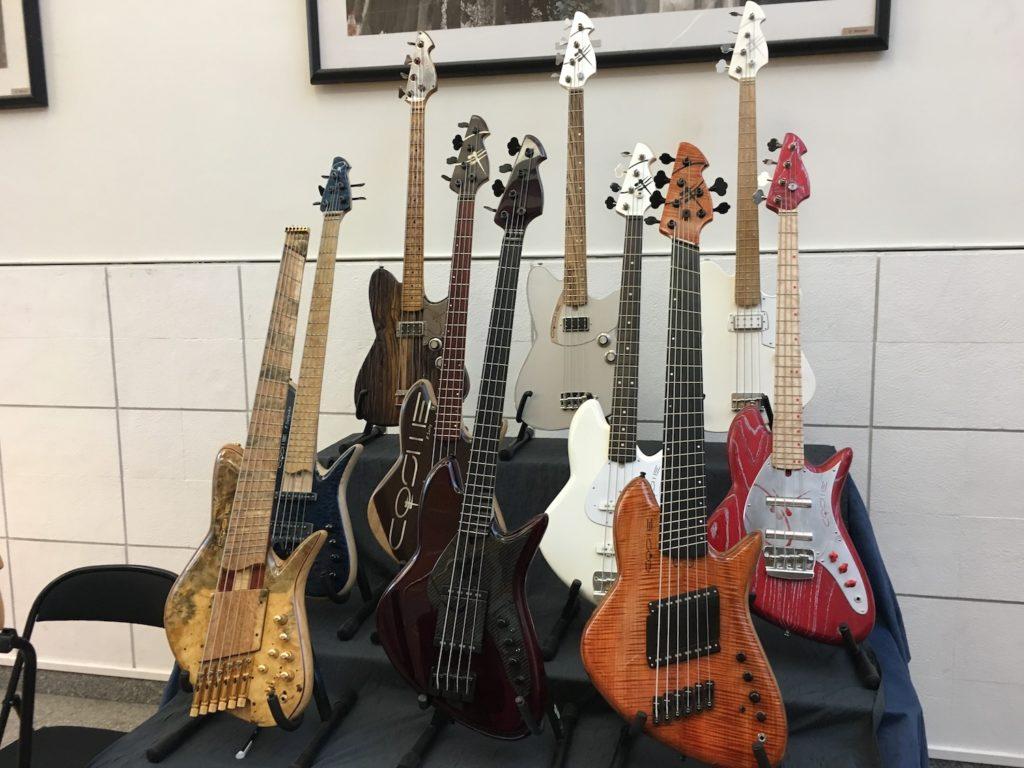 Internationales de la Guitare de Toulouse 2017 - Salon des luthiers électriques - Cosme