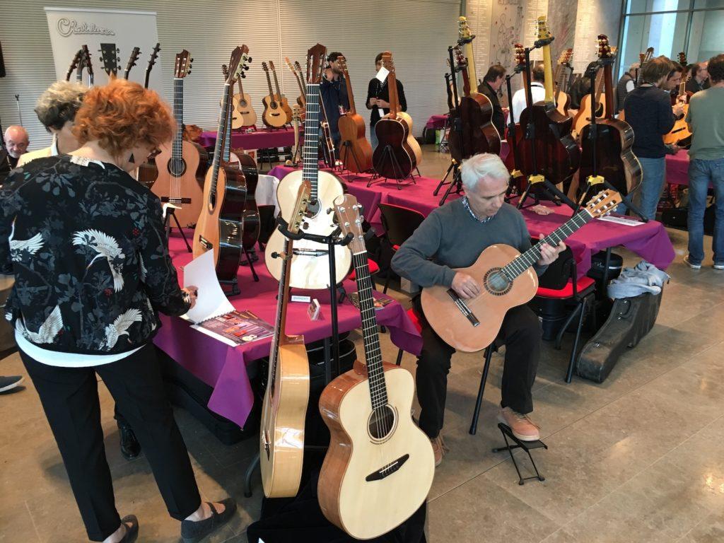 Internationales de la Guitare de Toulouse 2017 - Salon des luthiers acoustiques
