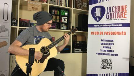 Interview Antoine Dufour - Guitariste fingerstyle aux accordages multicolores