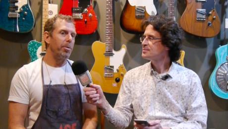 Interview Bill Asher - Luthier de Ben Harper