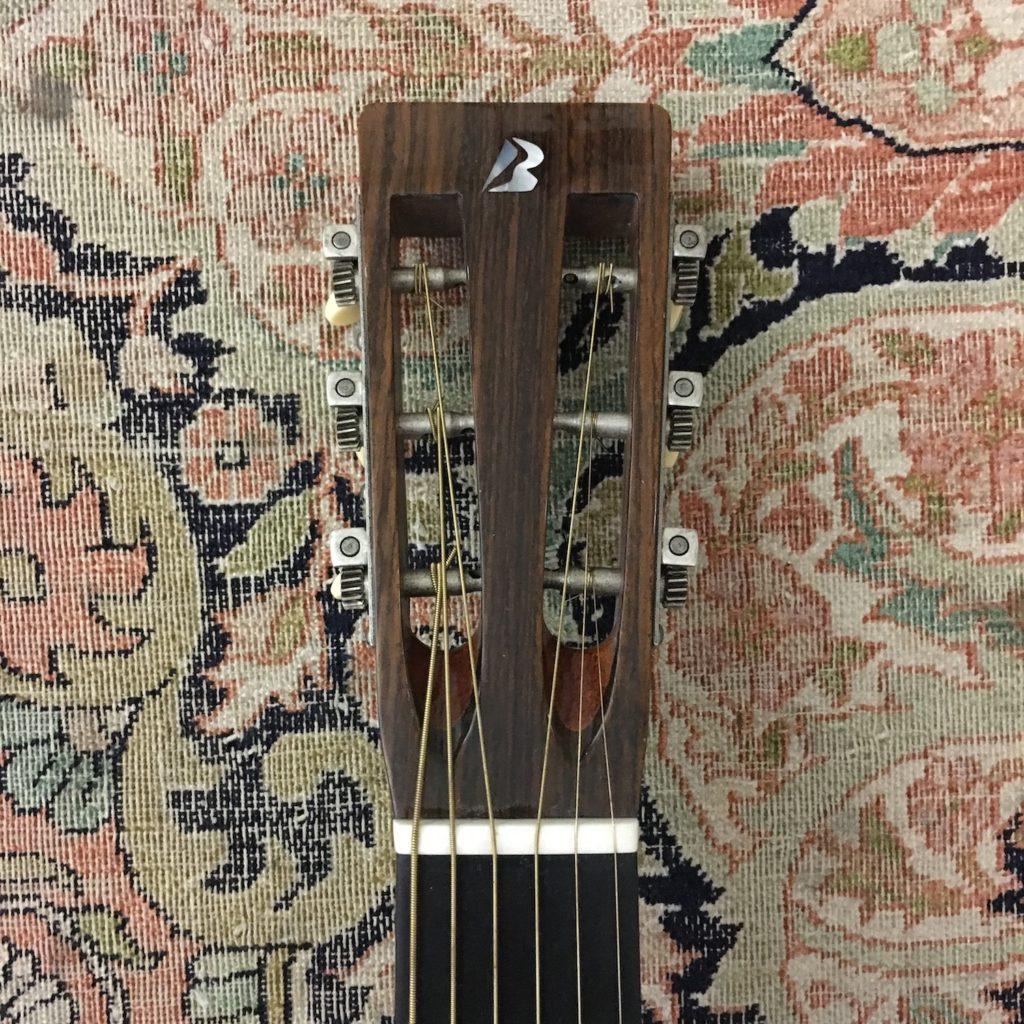 Test Guitare - Parlor - Luthier Pierre Bertrand