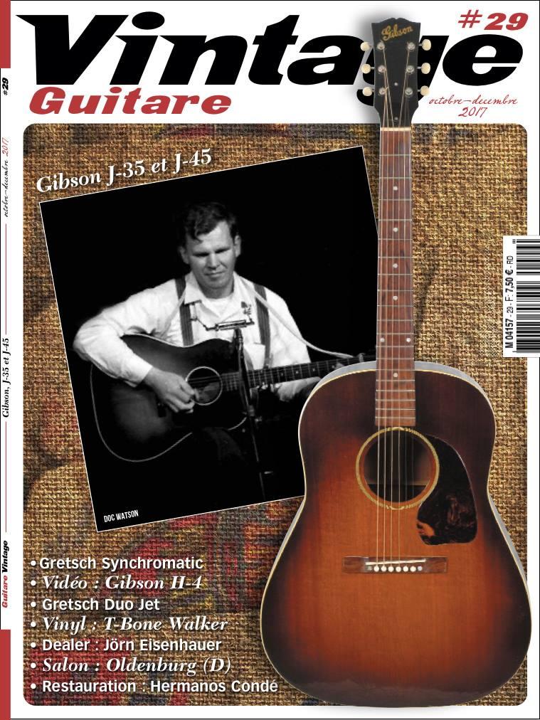 Vintage Guitare magazine #29