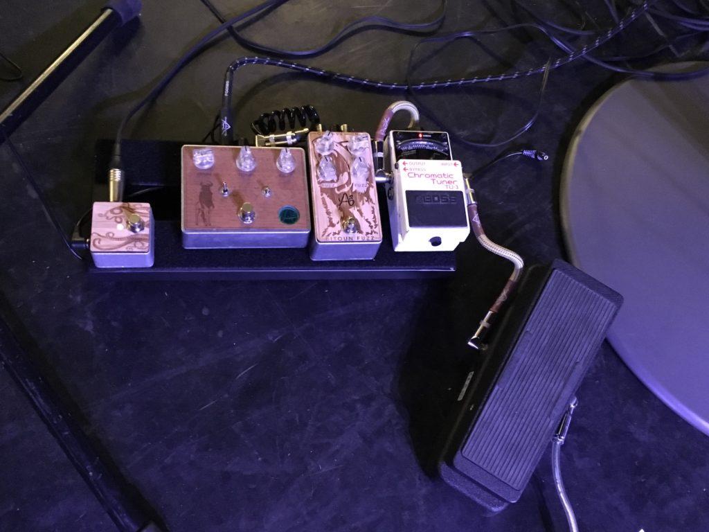 Guitar Fest 2017 - Pédalier Julien Bitoun - La Chaîne Guitare