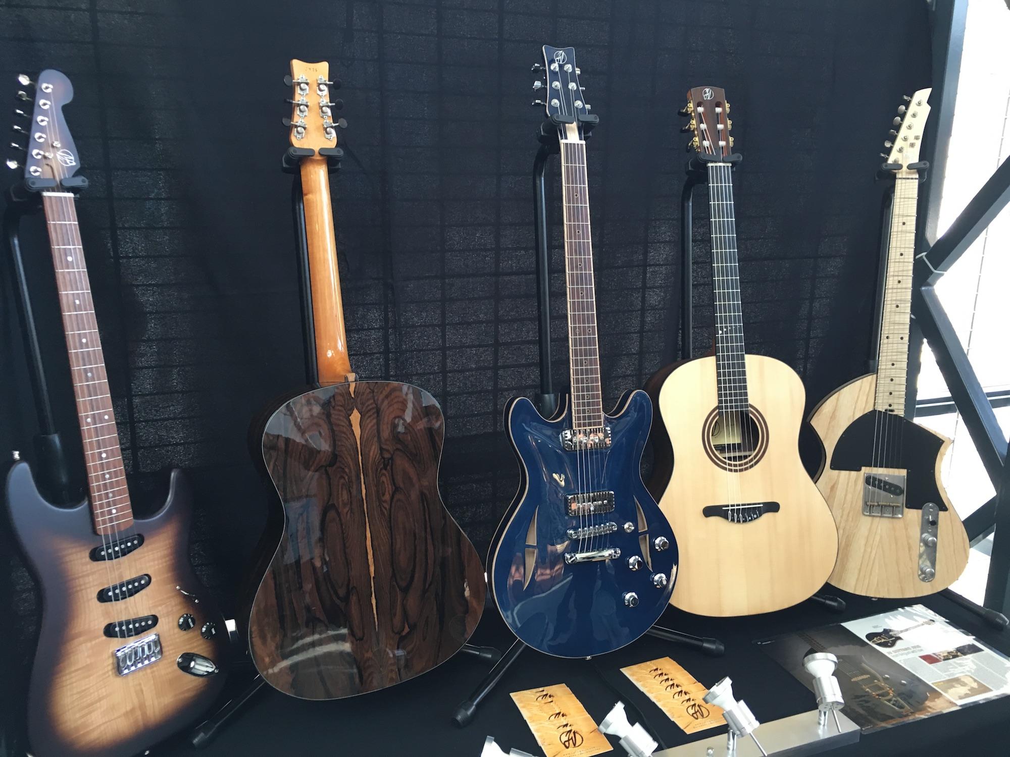 Interview luthier Jérôme Vander Maren - Guitare Ziricote et Esquire à la JV Guitars