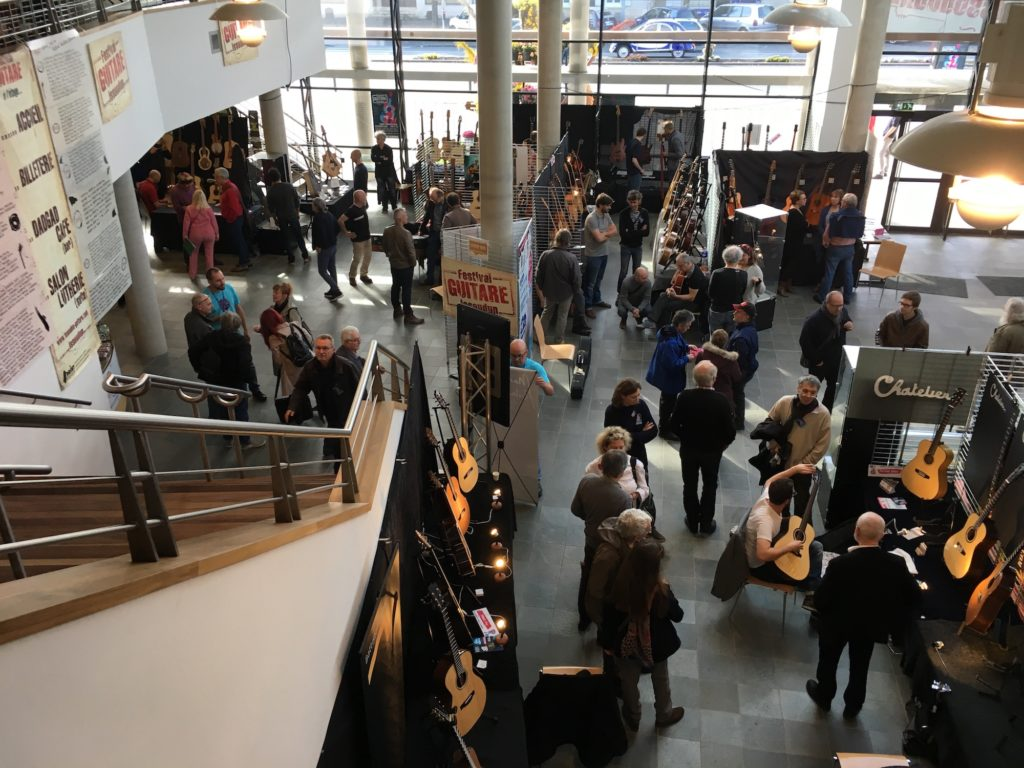 Festival Guitare Issoudun 2018 - Interview des organisateurs du salon des luthiers