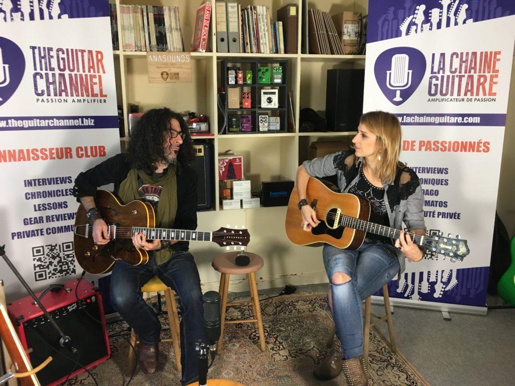 Interview Gaëlle Buswel et Michaal Benjelloun - Guitare à la Main