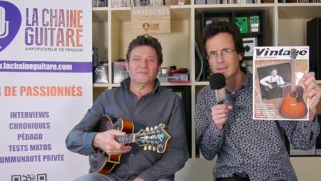 Interview Christian Séguret - Avenir du magazine Vintage Guitare