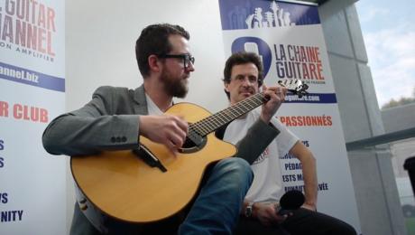 Interview Justin St-Pierre - Festival Guitare Issoudun 2017