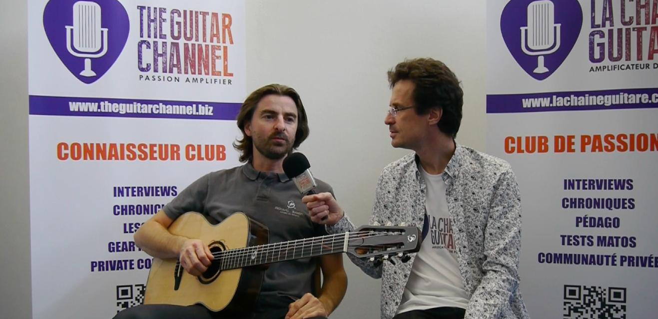Interview Richard Baudry - Présentation OM cordes nylon en Ziricotte