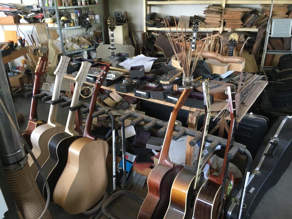 Chronique Lutherie - Visite atelier du luthier Franck Cheval 2/3