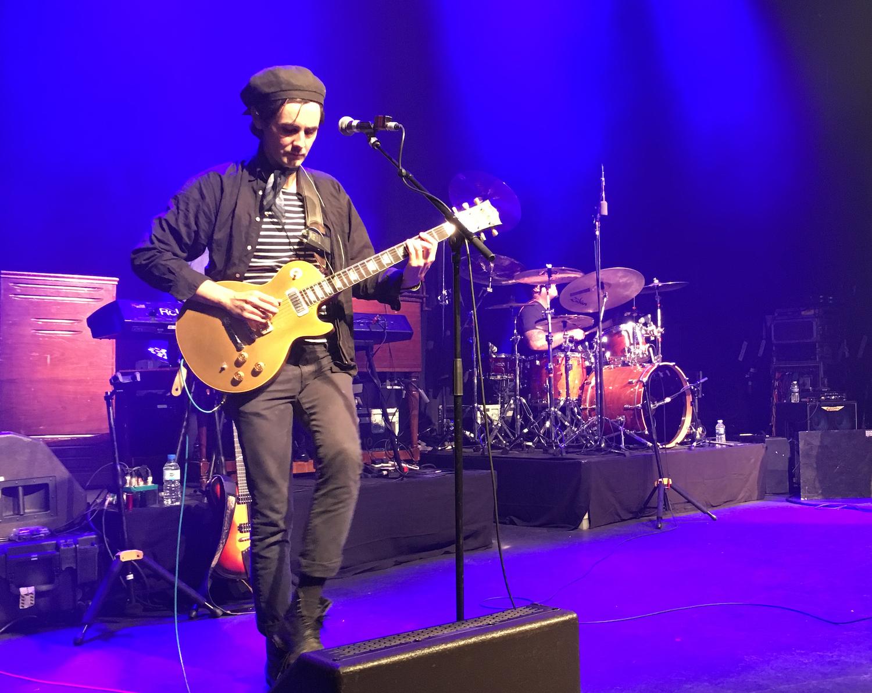 Interview Zane Carney sur scène à Paris avec Jonny Lang