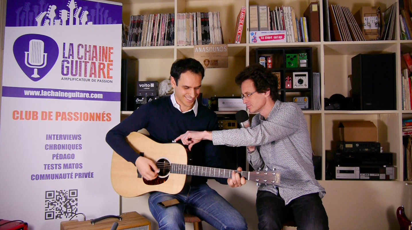Interview Adrien Mamou-Mani - Projet Hyvibe : futur de la guitare acoustique ?