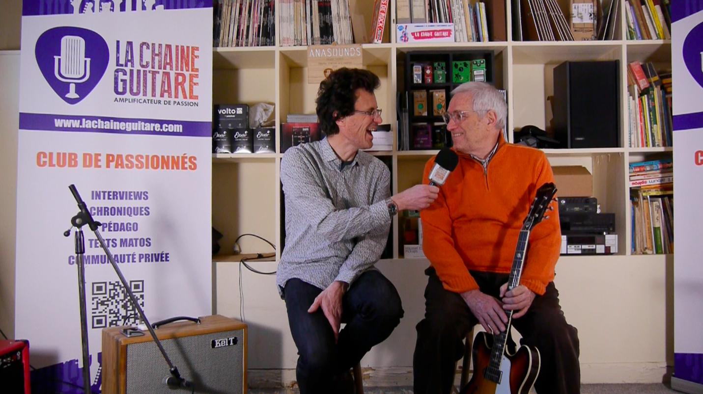 Interview André Duchossoir - Etat du marché de la guitare Vintage