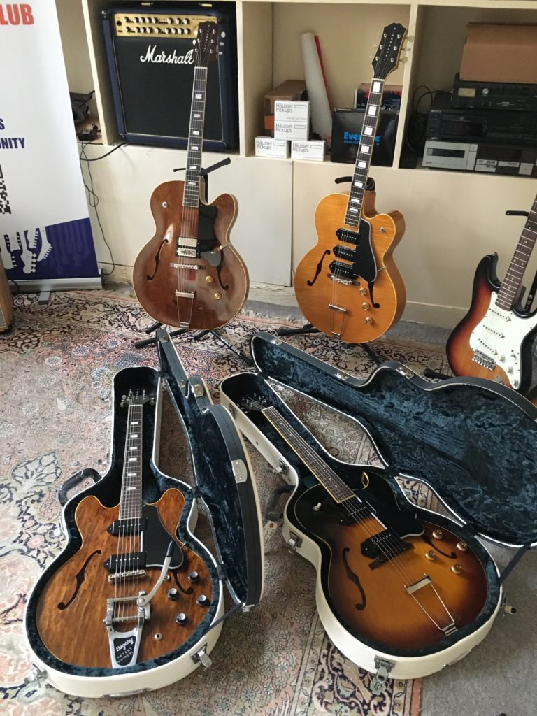 Après-midi showroom MIJ Selected Guitars - King Snake et RS Guitarworks