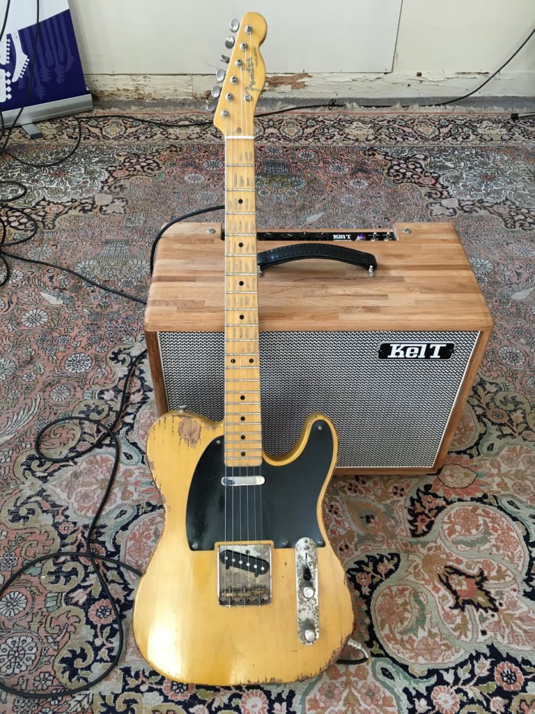 Une Telecaster et un ampli V-Twin Kelt : what else ?