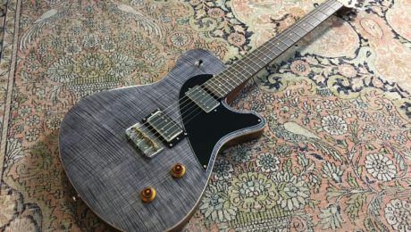 Test Guitare - Origin P90 hum-cancelling - Luthier Tony Girault