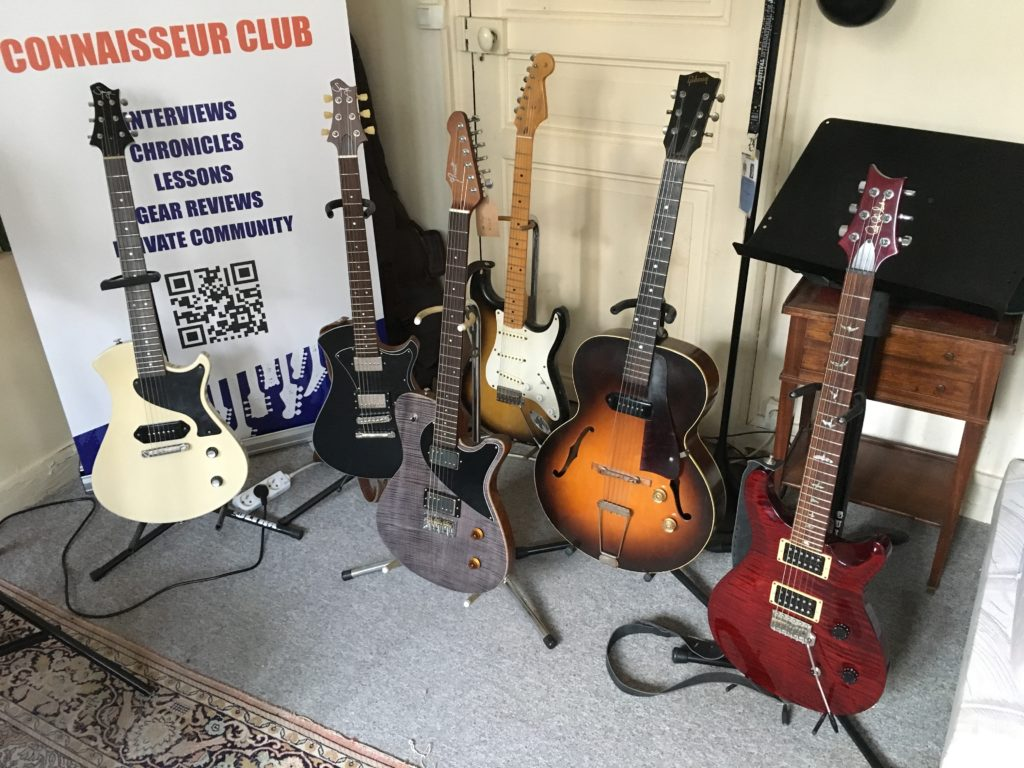 Showroom La Chaîne Guitare - Du beau matos à venir essayer