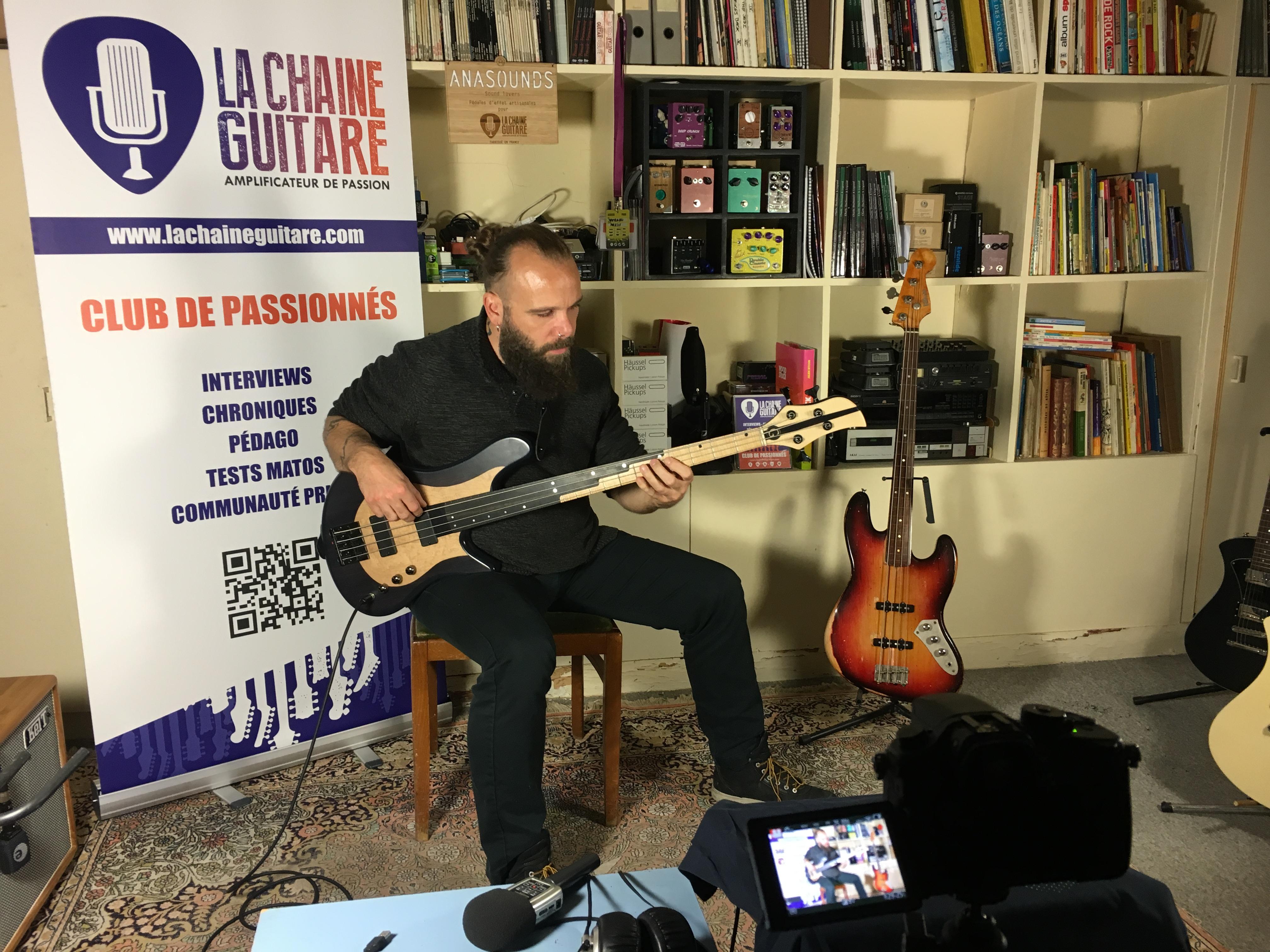 Interview Laurent David - Basse à la main