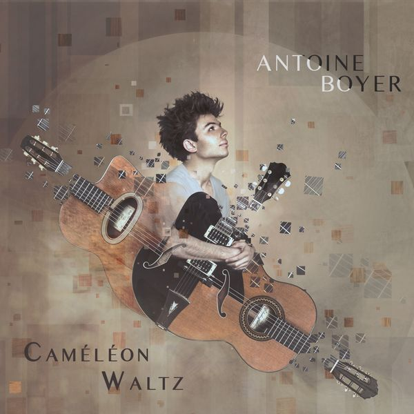 Interview Antoine Boyer guitare à la main - Caméléon Waltz