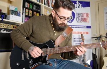 Démo guitare Springer modèle Halfbreed - Simon Ghnassia