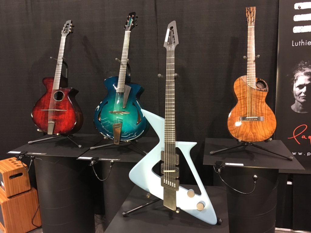 Pagelli - Luthiers Beyond Limits : interviews et photos - NAMM 2018