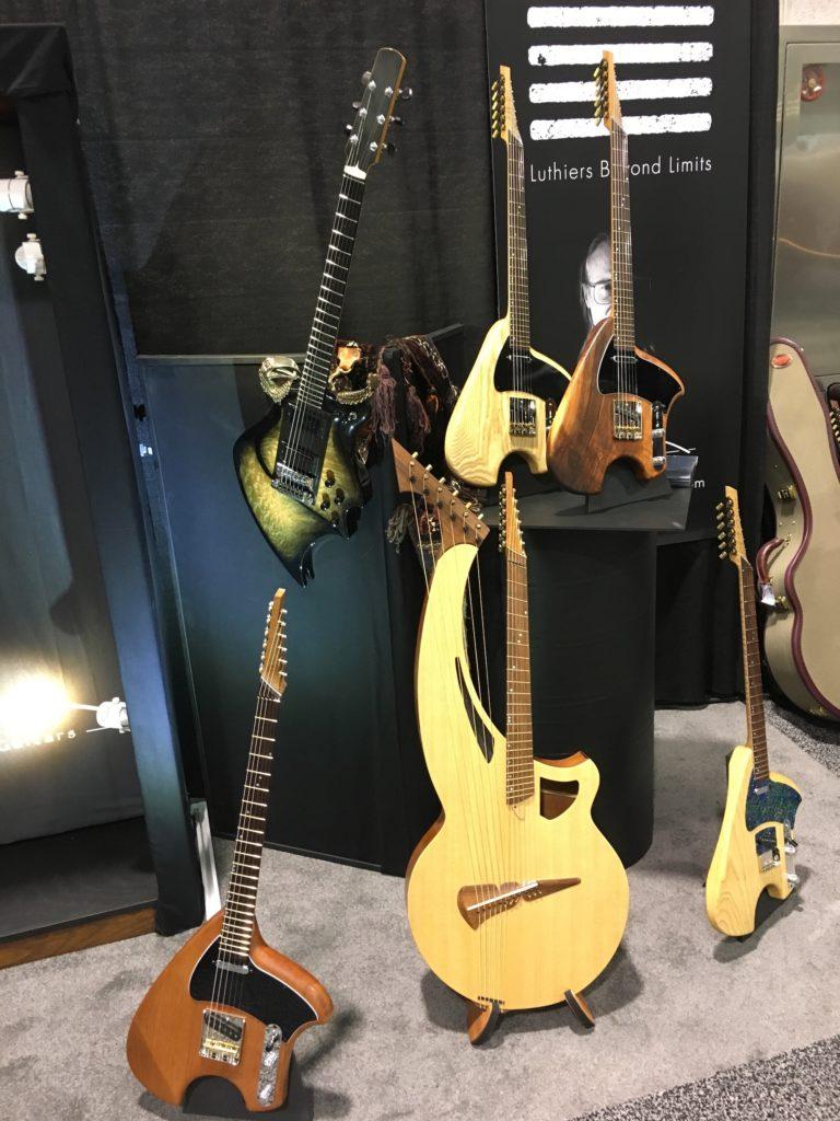 Steve Klein - Luthiers Beyond Limits : interviews et photos - NAMM 2018